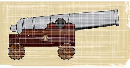 Worn Ships Cannon