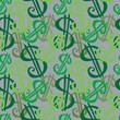 Money signs  seamless vector pattern