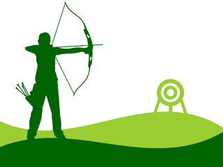 Archery illustration