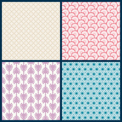 Retro Seamless Pattern Mix