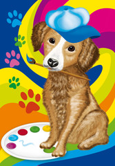 cane pittore