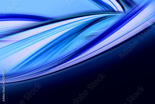 Papiers peints Abstract wave abstract elegant background design with space for your text