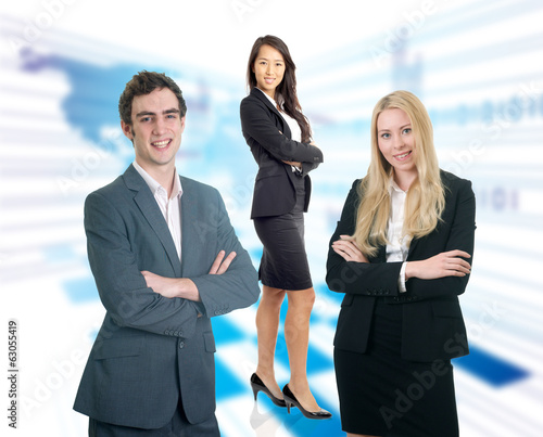 Formal business people