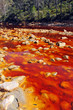 Постер, плакат: Contaminated water Rio Tinto Mines Huelva