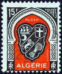 Algiers coat of arms (Algeria 1947)