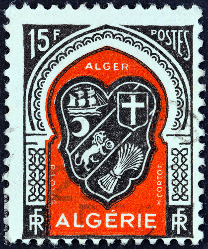 Algiers coat of arms (Algeria 1947)