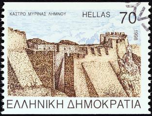 Myrina castle, Lemnos island (Greece 1998)
