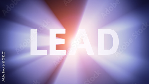 Illuminated LEAD
