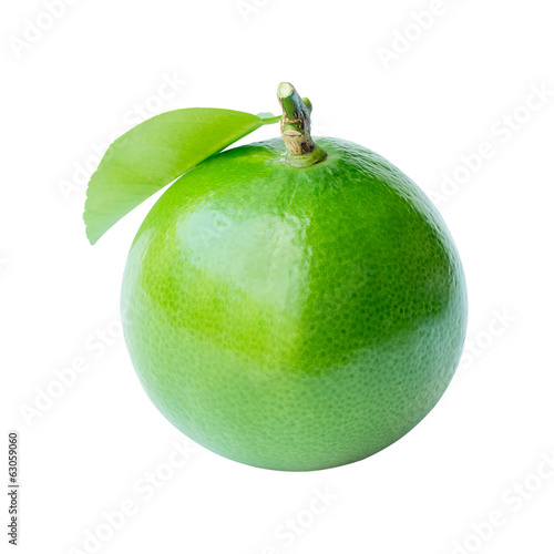 citrus lime fruit