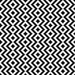 Black and white pattern. Vector ornament. - 63059673