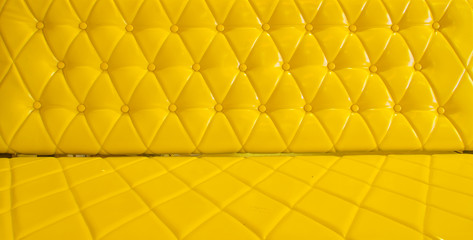 yellow sofa upholstery leather pattern background