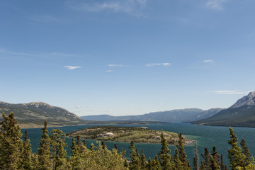 Bove Island Lookout on the Southern Klondike
