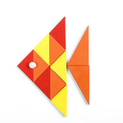 fish of geometric figures