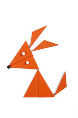 fox of geometric figures