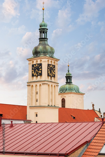 Church of St.James. Prague.  Czech Republic.