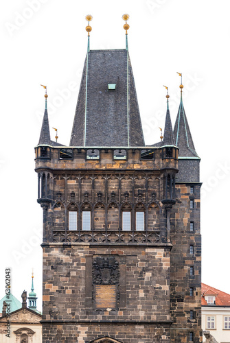 Tower at the Charles Bridge in Prague