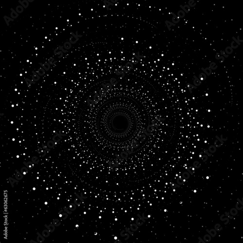Abstract swirl background, space concept design