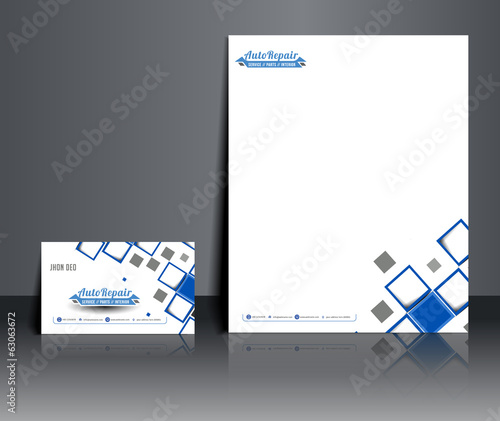 vector Corporate Identity Template