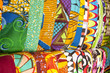 African fabrics from Ghana, West Africa - 63064203
