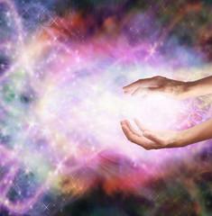 Beautiful Cosmis Healing Energy