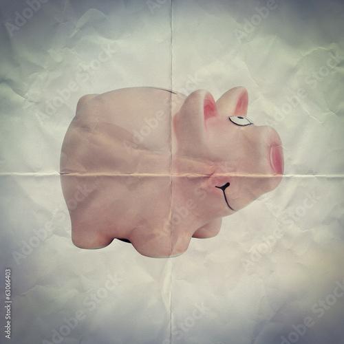 paper piggy bank