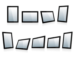 Selection of Tablets at different angles