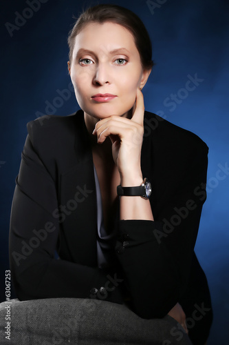 Portrait of an elegant business woman