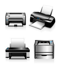 Computer Printers - Laser Printers and Ink Jet