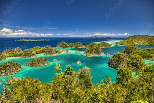 Canvas Indonesië Fam islands