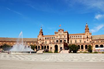 Seville - Plaza de España, Alcazar