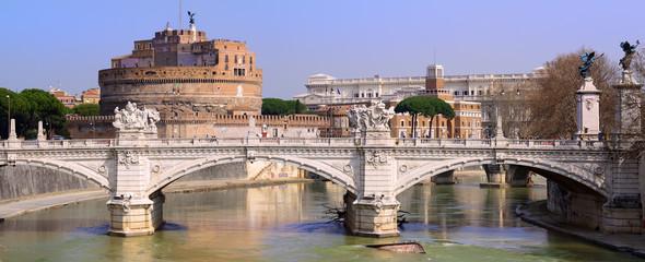 Castel Sant'Angelo e Ponte Vittorio Emanuele, Roma