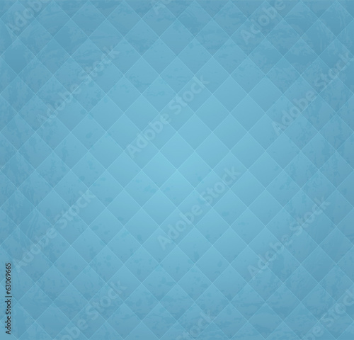 Grunge Textured Blue Vintage Seamless Background Pattern