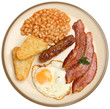 Full English Fried Breakfast
