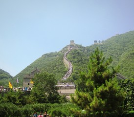 landscape near the great wall, china