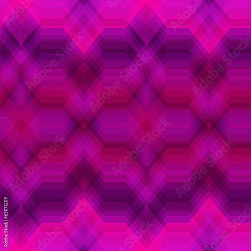 Color Seamless Abstract Zigzag Vector Background