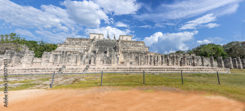 Temple of Warriors,Chichen Itza - Mexico