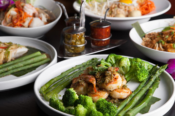 Shrimp Scampi Asian Dishes