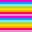 Seamless pattern of  horizontal rainbow colored stripes