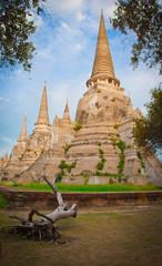 The Big Pagoda at Wat Phra Si San Phet Ayutthaya Thailand