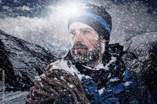 Adventure mountain man - 63076849