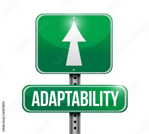 adaptability signpost illustration design