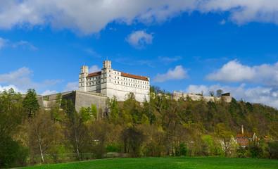 Willibaldsburg Panorama Südansicht