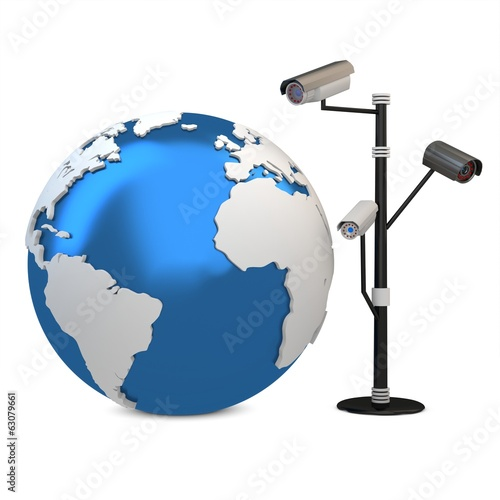 3d global video surveillance cameras