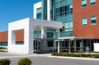 The modern medical building main entrance - 63080223