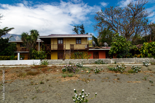 house in beach in Ometepe Island