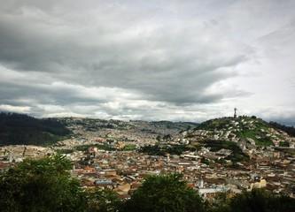 Quito ciudad paisaje