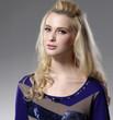 Fashion young woman portrait ,Theme: beauty, fashion