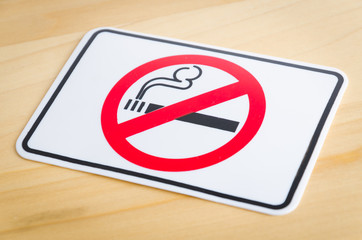 Smoking sign