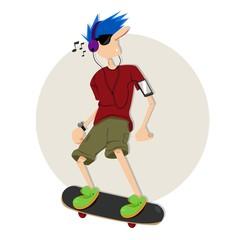 Enjoy Skateboarding