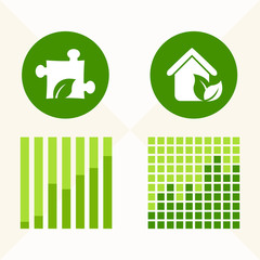 Flat Infographic Elements. Vector Illustration EPS 10.